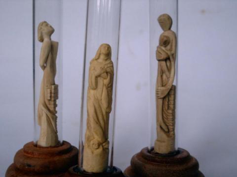 Dualidade e N. Sra da Conceição - Ze Vasconcellos Metal Sculptures - Metal Sculptures - Campinas - São Paulo - Brasil - 4
