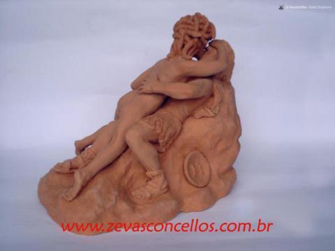 Persée et Méduse - Ze Vasconcellos Metal Sculptures - Metal Sculptures - Campinas - São Paulo - Brasil - 24