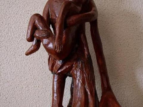 Etiópia I - Ze Vasconcellos Metal Sculptures - Metal Sculptures - Campinas - São Paulo - Brasil - 17