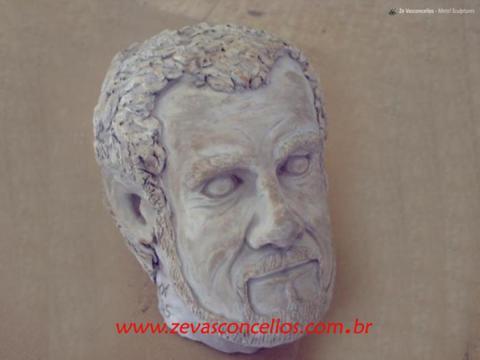 Busto Z - Ze Vasconcellos Metal Sculptures - Metal Sculptures - Campinas - São Paulo - Brasil - 19