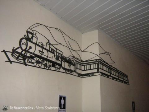 Maria Fumaça - À VENDA Ze Vasconcellos Metal Sculptures - Ze Vasconcellos Metal Sculptures - Metal Sculptures - Campinas - São Paulo - Brasil - 1