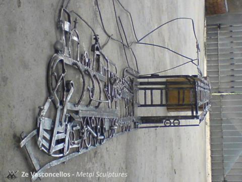 Maria Fumaça - À VENDA Ze Vasconcellos Metal Sculptures - Ze Vasconcellos Metal Sculptures - Metal Sculptures - Campinas - São Paulo - Brasil - 5