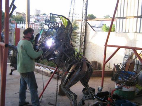 Anda-Luz Jodin Ze Vasconcellos Metal Sculptures - Ze Vasconcellos Metal Sculptures - Metal Sculptures - Campinas - São Paulo - Brasil - 4