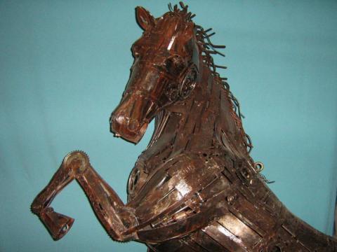 Anda-Luz Jodin Ze Vasconcellos Metal Sculptures - Ze Vasconcellos Metal Sculptures - Metal Sculptures - Campinas - São Paulo - Brasil - 5