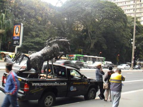 Salto em Liberdade II Ze Vasconcellos Metal Sculptures - Ze Vasconcellos Metal Sculptures - Metal Sculptures - Campinas - São Paulo - Brasil - 3