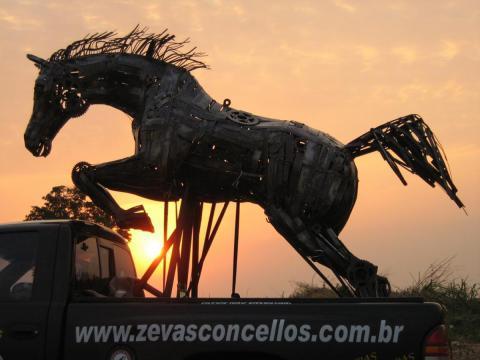 Salto em Liberdade Ze Vasconcellos Metal Sculptures - Ze Vasconcellos Metal Sculptures - Metal Sculptures - Campinas - São Paulo - Brasil - 3
