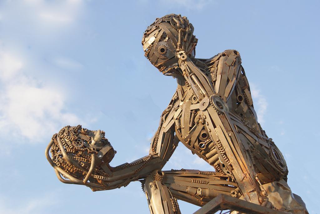 O Ego - Atelier Vasconcellos Ze Vasconcellos Metal SculpturesZe Vasconcellos Metal Sculptures - Metal Sculptures - Campinas - São Paulo - Brasil Esculturas em Metal, Metal Sculptures, Cavalo Metal, Horse Metal, Art Metal, Ze Vasconcellos Metal Sculptures