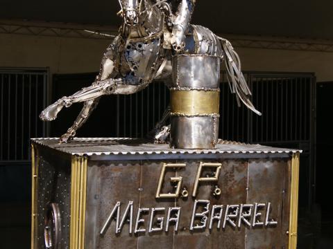 Troféu Mega Barrel 2012 Ze Vasconcellos Metal Sculptures - Ze Vasconcellos Metal Sculptures - Metal Sculptures - Campinas - São Paulo - Brasil - 3
