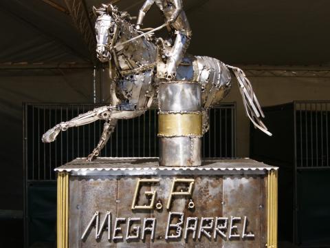 Troféu Mega Barrel 2012 Ze Vasconcellos Metal Sculptures - Ze Vasconcellos Metal Sculptures - Metal Sculptures - Campinas - São Paulo - Brasil - 4