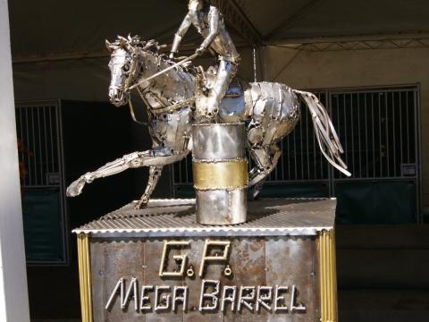 Troféu Mega Barrel 2012 Ze Vasconcellos Metal Sculptures - Ze Vasconcellos Metal Sculptures - Metal Sculptures - Campinas - São Paulo - Brasil - 2