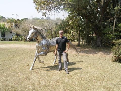Quarto de Milha em Inox Ze Vasconcellos Metal Sculptures - Ze Vasconcellos Metal Sculptures - Metal Sculptures - Campinas - São Paulo - Brasil - 3