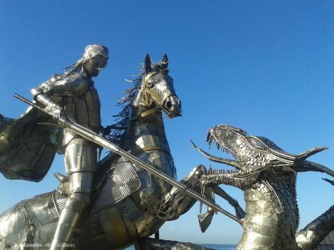 São Jorge  Ze Vasconcellos Metal Sculptures - Ze Vasconcellos Metal Sculptures - Metal Sculptures - Campinas - São Paulo - Brasil - 11