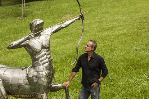 Centaur / Centauro -  New Project Ze Vasconcellos Metal Sculptures - Ze Vasconcellos Metal Sculptures - Metal Sculptures - Campinas - São Paulo - Brasil - 1