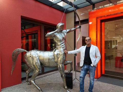 Centaur / Centauro -  New Project Ze Vasconcellos Metal Sculptures - Ze Vasconcellos Metal Sculptures - Metal Sculptures - Campinas - São Paulo - Brasil - 5
