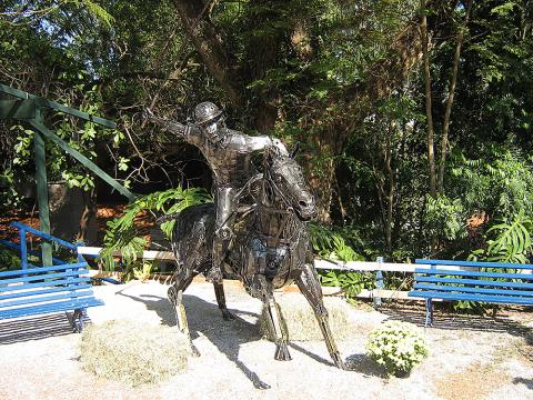 Exposição Hípica – Campinas 2008 Metal Sulpture, Sculpture Steel, Escultura em Meta, Horse Metal, Ze Vasconcellos - Ze Vasconcellos Metal Sculptures - Metal Sculptures - Campinas - São Paulo - Brasil - 3