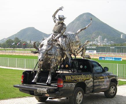Grande Premio Brasil - RJ Metal Sulpture, Sculpture Steel, Escultura em Meta, Horse Metal, Ze Vasconcellos - Ze Vasconcellos Metal Sculptures - Metal Sculptures - Campinas - São Paulo - Brasil - 4