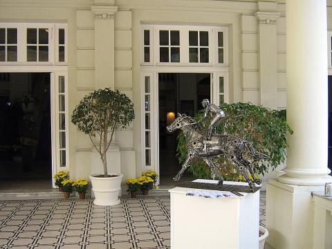 Grande Premio Brasil - RJ Metal Sulpture, Sculpture Steel, Escultura em Meta, Horse Metal, Ze Vasconcellos - Ze Vasconcellos Metal Sculptures - Metal Sculptures - Campinas - São Paulo - Brasil - 3