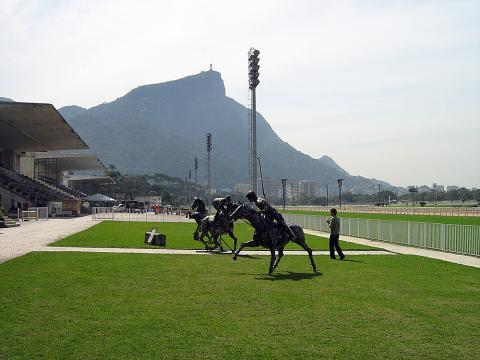 Grande Premio Brasil - RJ Metal Sulpture, Sculpture Steel, Escultura em Meta, Horse Metal, Ze Vasconcellos - Ze Vasconcellos Metal Sculptures - Metal Sculptures - Campinas - São Paulo - Brasil - 5
