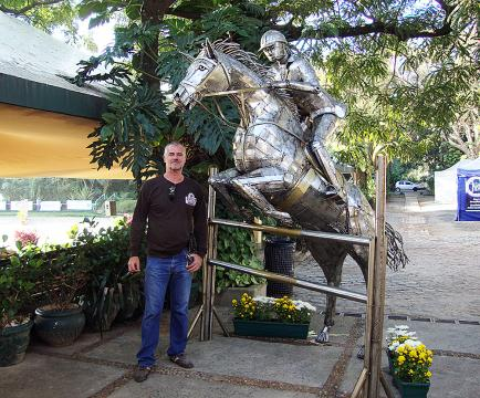 CHSA – Toféu Permanente do Clube Hipico Santo Amaro Metal Sulpture, Sculpture Steel, Escultura em Meta, Horse Metal, Ze Vasconcellos - Ze Vasconcellos Metal Sculptures - Metal Sculptures - Campinas - São Paulo - Brasil - 11