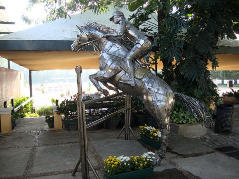 CHSA – Toféu Permanente do Clube Hipico Santo Amaro Metal Sulpture, Sculpture Steel, Escultura em Meta, Horse Metal, Ze Vasconcellos - Ze Vasconcellos Metal Sculptures - Metal Sculptures - Campinas - São Paulo - Brasil - 2