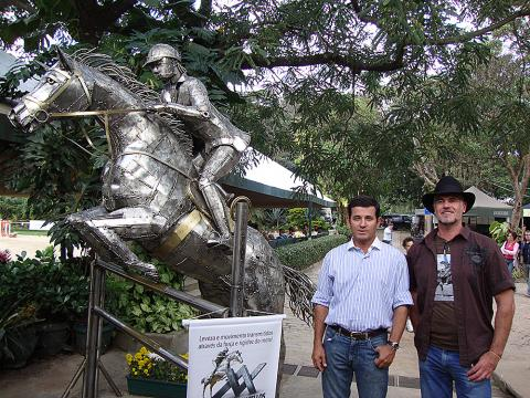 CHSA – Toféu Permanente do Clube Hipico Santo Amaro Metal Sulpture, Sculpture Steel, Escultura em Meta, Horse Metal, Ze Vasconcellos - Ze Vasconcellos Metal Sculptures - Metal Sculptures - Campinas - São Paulo - Brasil - 1