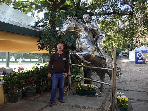 CHSA – Toféu Permanente do Clube Hipico Santo Amaro Metal Sulpture, Sculpture Steel, Escultura em Meta, Horse Metal, Ze Vasconcellos - Ze Vasconcellos Metal Sculptures - Metal Sculptures - Campinas - São Paulo - Brasil - 4