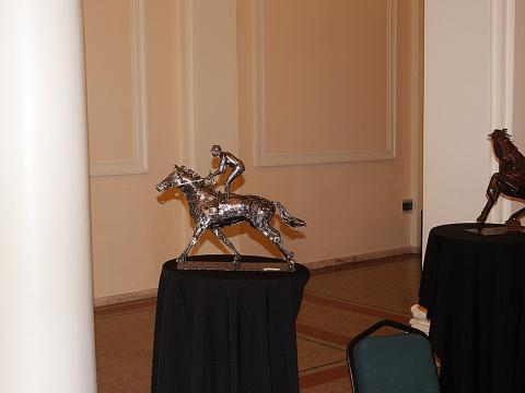 Jockey Maroñes- Montevideo Uruguay Metal Sulpture, Sculpture Steel, Escultura em Meta, Horse Metal, Ze Vasconcellos - Ze Vasconcellos Metal Sculptures - Metal Sculptures - Campinas - São Paulo - Brasil - 2