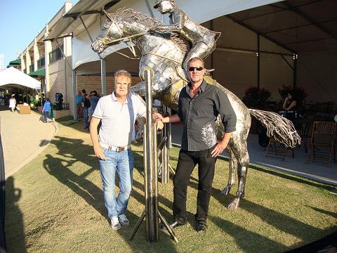 Hípica Helvetia Riding Metal Sulpture, Sculpture Steel, Escultura em Meta, Horse Metal, Ze Vasconcellos - Ze Vasconcellos Metal Sculptures - Metal Sculptures - Campinas - São Paulo - Brasil - 1