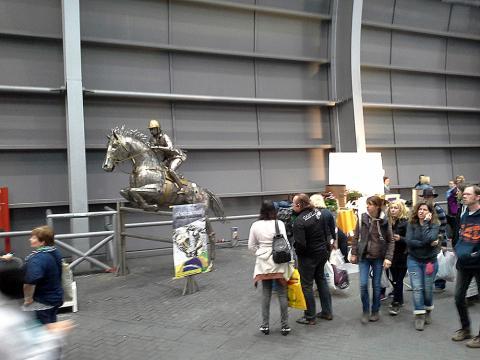 Equitana, Essen – Alemanha Metal Sulpture, Sculpture Steel, Escultura em Meta, Horse Metal, Ze Vasconcellos - Ze Vasconcellos Metal Sculptures - Metal Sculptures - Campinas - São Paulo - Brasil - 5