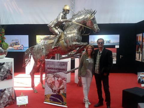 Metec, Dusseldorf - Alemanha Metal Sulpture, Sculpture Steel, Escultura em Meta, Horse Metal, Ze Vasconcellos - Ze Vasconcellos Metal Sculptures - Metal Sculptures - Campinas - São Paulo - Brasil - 3