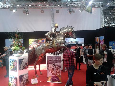 Metec, Dusseldorf - Alemanha Metal Sulpture, Sculpture Steel, Escultura em Meta, Horse Metal, Ze Vasconcellos - Ze Vasconcellos Metal Sculptures - Metal Sculptures - Campinas - São Paulo - Brasil - 4
