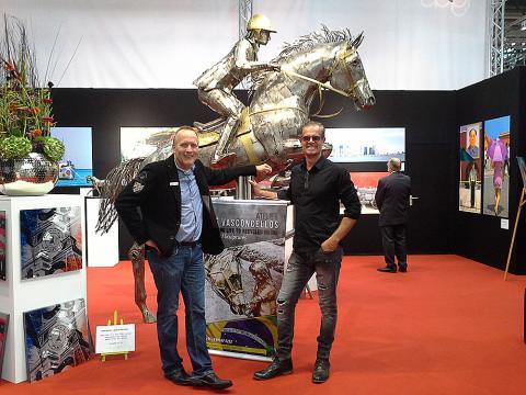 Metec, Dusseldorf - Alemanha Metal Sulpture, Sculpture Steel, Escultura em Meta, Horse Metal, Ze Vasconcellos - Ze Vasconcellos Metal Sculptures - Metal Sculptures - Campinas - São Paulo - Brasil - 2