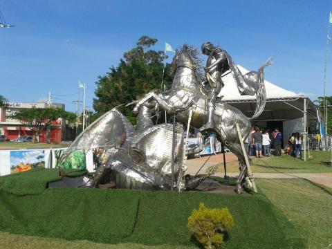 Indaituba Eco - Ze Vasconcellos Metal Sculptures - Metal Sculptures - Campinas - São Paulo - Brasil - 30