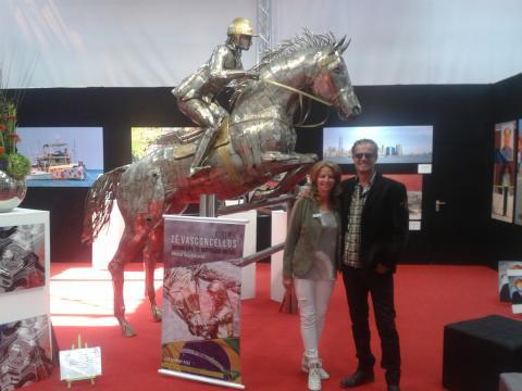 Metrec- ESSEN - Alemanha - Ze Vasconcellos Metal Sculptures - Metal Sculptures - Campinas - São Paulo - Brasil - 19
