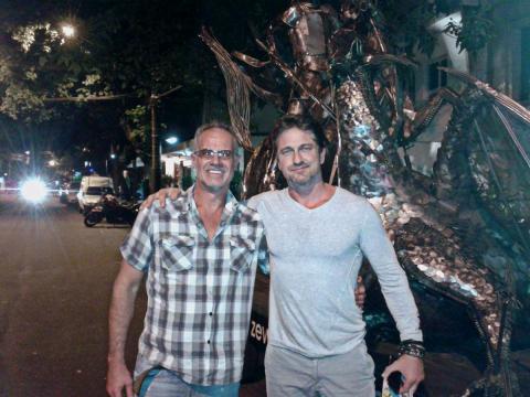 Gerard Butler - Ze Vasconcellos Metal Sculptures - Metal Sculptures - Campinas - São Paulo - Brasil - 1