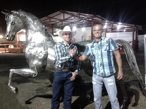Guilherme Marchi - Horse Week - Ze Vasconcellos Metal Sculptures - Metal Sculptures - Campinas - São Paulo - Brasil - 61