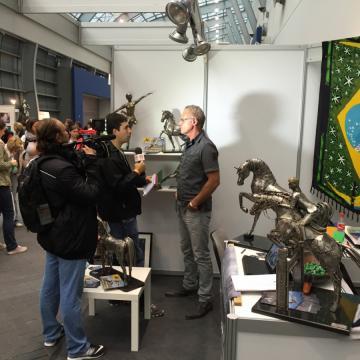 Entrevista Equitana - Alemanha - Ze Vasconcellos Metal Sculptures - Metal Sculptures - Campinas - São Paulo - Brasil - 18