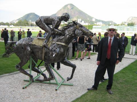 Jockey Clube da Gávea - Rio de Janeiro - Ze Vasconcellos Metal Sculptures - Metal Sculptures - Campinas - São Paulo - Brasil - 95