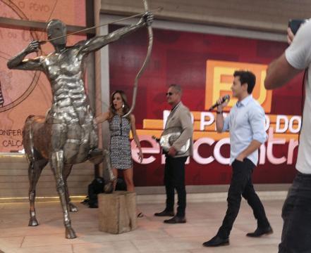 Programa Encontro com Fátima Bernardes - Ze Vasconcellos Metal Sculptures - Metal Sculptures - Campinas - São Paulo - Brasil - 74