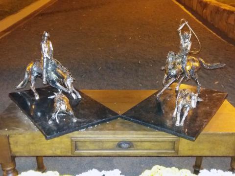 Exposição no Paddock Ranch - Itapira  Sp Ze Vasconcellos Metal Sculptures - Ze Vasconcellos Metal Sculptures - Metal Sculptures - Campinas - São Paulo - Brasil - 4
