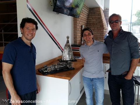 Ze Vasconcellos, Felipe Massa e Vários pilotos prestigiam evento no São Paulo FC. Ze Vasconcellos Metal Sculptures - Ze Vasconcellos Metal Sculptures - Metal Sculptures - Campinas - São Paulo - Brasil - 2