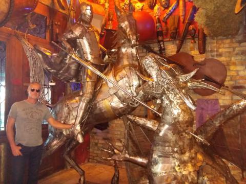 São Jorge - A escultura no Rio de JaneiRO Ze Vasconcellos Metal Sculptures - Ze Vasconcellos Metal Sculptures - Metal Sculptures - Campinas - São Paulo - Brasil - 1