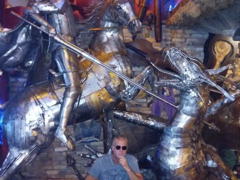 São Jorge - A escultura no Rio de JaneiRO Ze Vasconcellos Metal Sculptures - Ze Vasconcellos Metal Sculptures - Metal Sculptures - Campinas - São Paulo - Brasil - 2