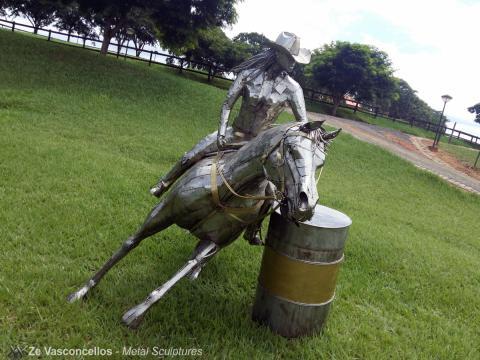 Exposição Ze Vasconcellos - 26 Congresso ABQM de Avaré 2016 -  Ze Vasconcellos Metal Sculptures - Ze Vasconcellos Metal Sculptures - Metal Sculptures - Campinas - São Paulo - Brasil - 1