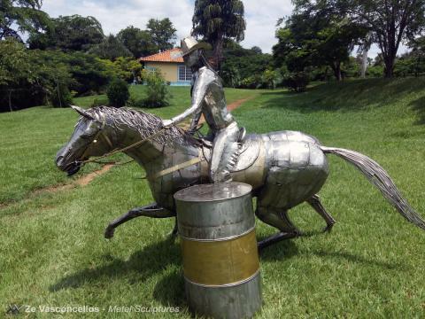 Exposição Ze Vasconcellos - 26 Congresso ABQM de Avaré 2016 -  Ze Vasconcellos Metal Sculptures - Ze Vasconcellos Metal Sculptures - Metal Sculptures - Campinas - São Paulo - Brasil - 2