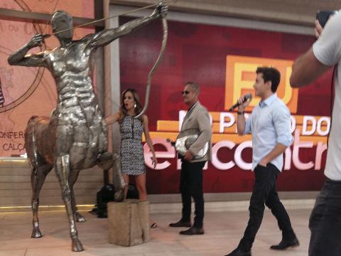 Programa ENCONTRO co Fátima Bernardes - 15-07-2016 Ze Vasconcellos Metal Sculptures - Ze Vasconcellos Metal Sculptures - Metal Sculptures - Campinas - São Paulo - Brasil - 2