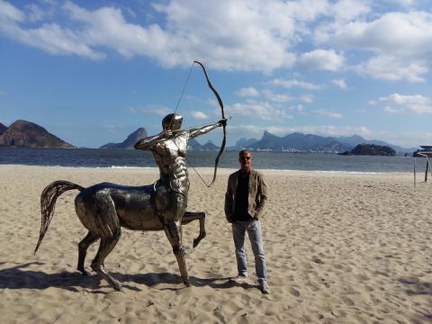 Rumo ao Rio de Janeiro - Ze Vasconcellos Ze Vasconcellos Metal Sculptures - Ze Vasconcellos Metal Sculptures - Metal Sculptures - Campinas - São Paulo - Brasil - 4