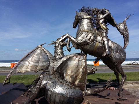 Rumo ao Rio de Janeiro - Ze Vasconcellos Ze Vasconcellos Metal Sculptures - Ze Vasconcellos Metal Sculptures - Metal Sculptures - Campinas - São Paulo - Brasil - 1