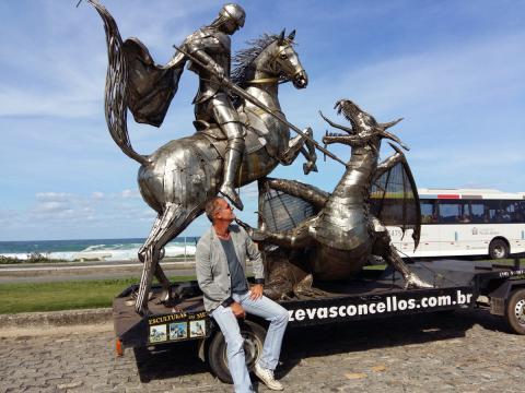 Rumo ao Rio de Janeiro - Ze Vasconcellos Ze Vasconcellos Metal Sculptures - Ze Vasconcellos Metal Sculptures - Metal Sculptures - Campinas - São Paulo - Brasil - 5