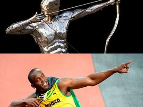 Ze Vasconcellos homenagea Usain Bolt - Escultura CENTAURO estará no Rio 2016 Ze Vasconcellos Metal Sculptures - Ze Vasconcellos Metal Sculptures - Metal Sculptures - Campinas - São Paulo - Brasil - 4